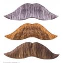Moustache roi adhésive
