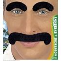Moustache gentleman noire