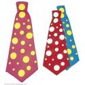 Maxi cravate de clown