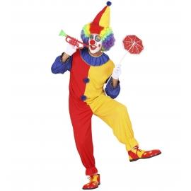 Déguisement clown salopette femme