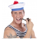 Beret de marin à pompons