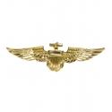 Broches aviateur en or