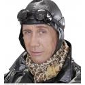 Bonnet aviateur simili cuir