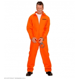 Déguisement Prisonnier orange