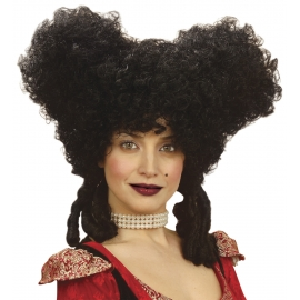 Perruque noire marquise