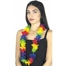 Collier Rainbow multicolore