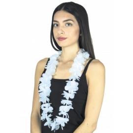 Collier Hawai blanc