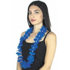 Collier Hawai bleu