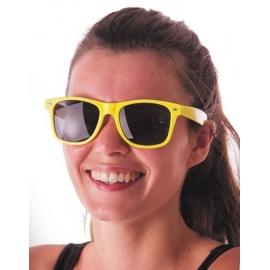 Lunettes fluo jaunes