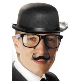 Lunettes avec moustaches