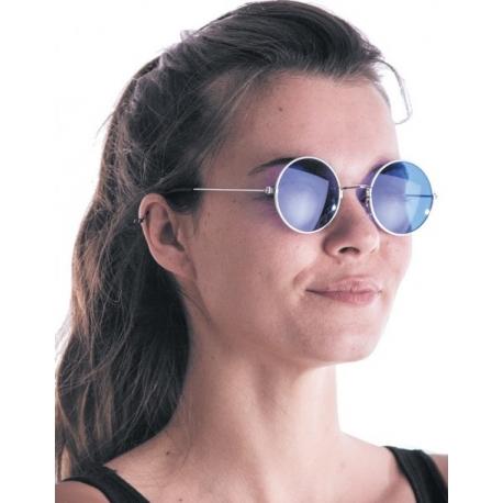 Lunettes hippy bleues