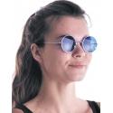 Lunettes hippie bleues