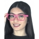 Lunettes Hologramme Peace And Love