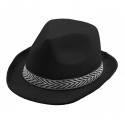Chapeau borsalino polyester noir